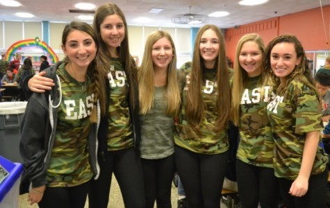 Seniors secure victory in camo dress-up day