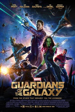 Guardians of the Galaxy tops the list of best movies of the year