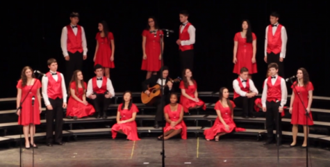 East vocal department members showcase their talent at the winter concert