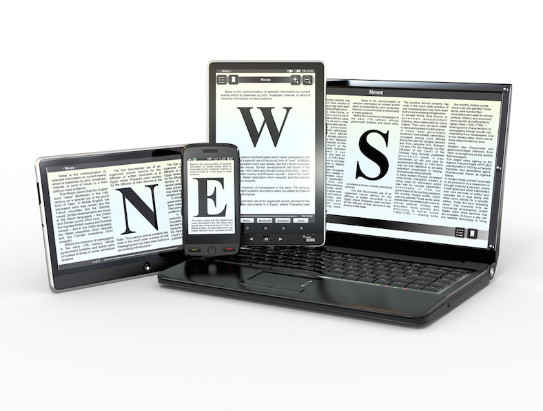 Newspapers can save money and time by staying on the internet.​​