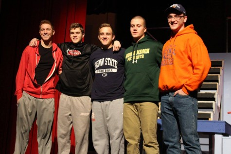 East student athletes commit to colleges