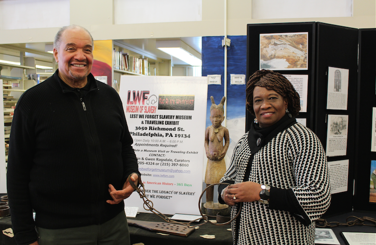 Lest We Forget Slavery Museum brings the legacy of slavery to East students