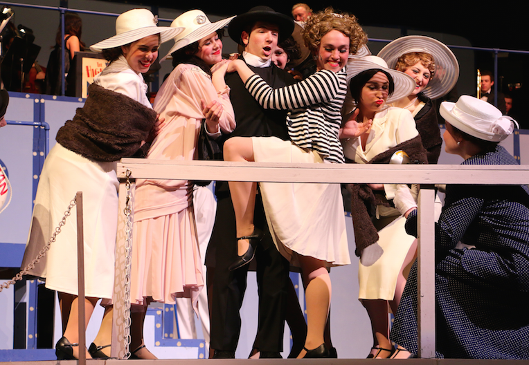 East cast members impress audience with Anything Goes
