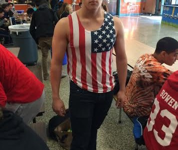 East shows school spirit and patriotism on 'Murica Monday