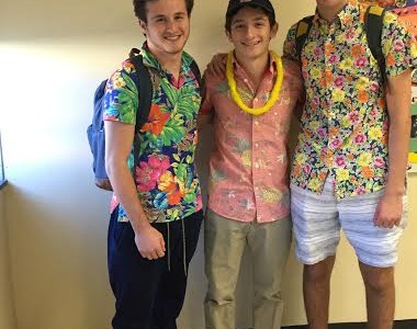 East has a Tropical Tuesday theme for Spirit Week