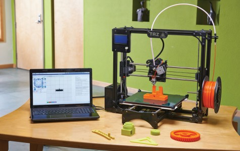 East drafting department benefits from its 3D Printer