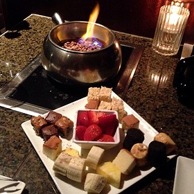 The Flaming Turtle Chocolate Fondue