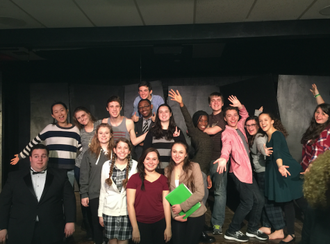 "Studio 2 Class of 2015-16 performs ""Oh No!"" in the Little Theatre"