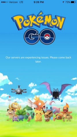 Server issues have been reported frequently by Pokémon Go users.