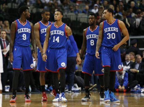 The Philadelphia 76ers enthusiastically prepare for the upcoming 2016-2017 NBA season