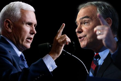 Governor Pence and Senator Kaine engage in a heated debate Tuesday night
