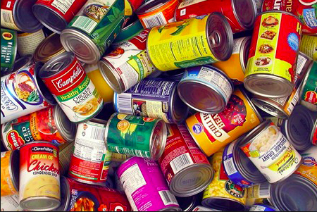 East collects over 5,800 food donations during spirit week
