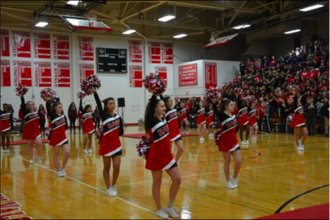 East hosts its annual pep rally before the East vs. West game