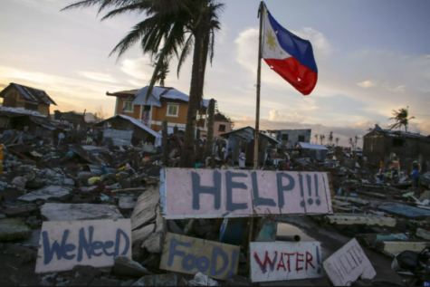 Filipino Culture Society collects donations for victims of 2013 Typhoon Haiyan