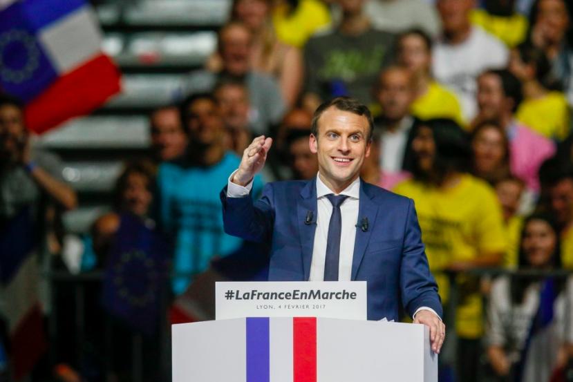 Emmanuel+Macron+defeats+Marine+Le+Pen+in+the+election.+