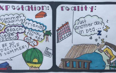 Summer expectation vs. reality
