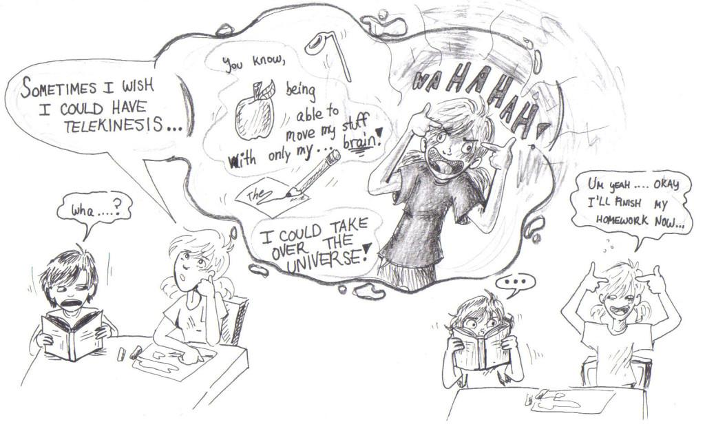 The Pointy Finger Technique: Another Crazy Comic by Nicolle