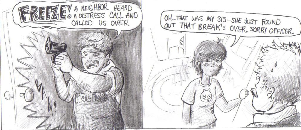 do you mean coffee break? another crazy comic by nicolle