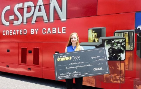 Bowne wins second place in C-SPAN's StudentCam competition