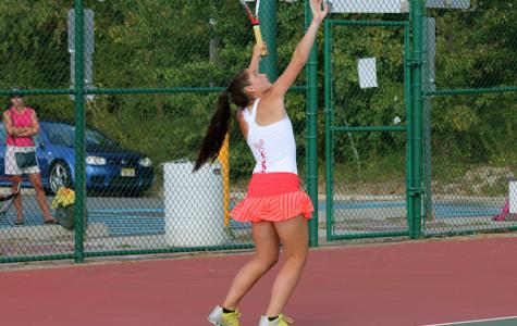 East Girls Tennis defeats Lenape in home opener