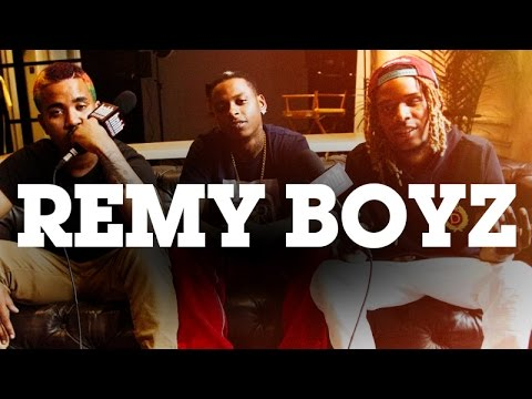 """Wap and his friends call themselves """"Remy Boyz."""""""