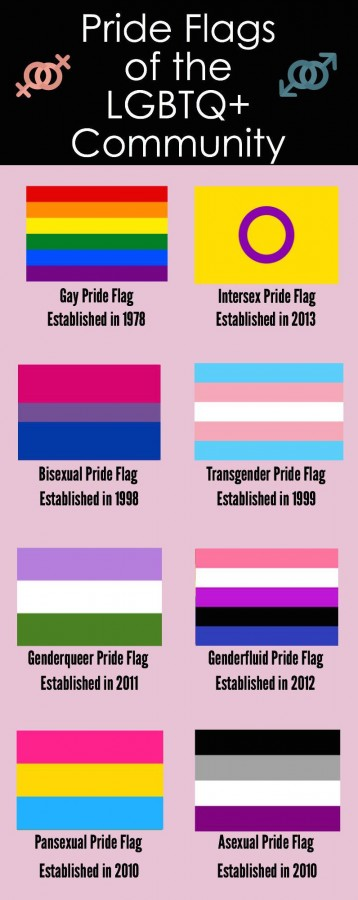 Pride Flags of the LGBTQ+ Community