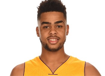 D'Angelo Russell of the LA Lakers
