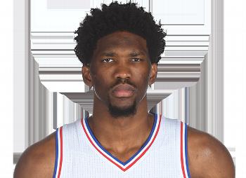 Joel Embiid of the Philadelphia 76ers