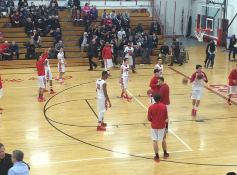 East Basketball team defeats Eastern with a score of 48-47 in a heated game Thursday night
