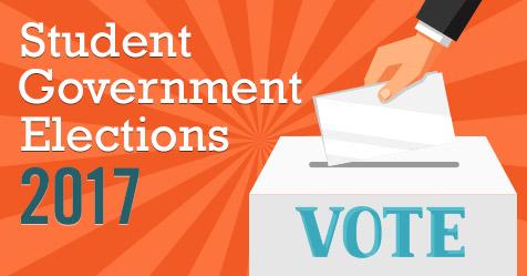 Students vote in annual SGA representative elections.