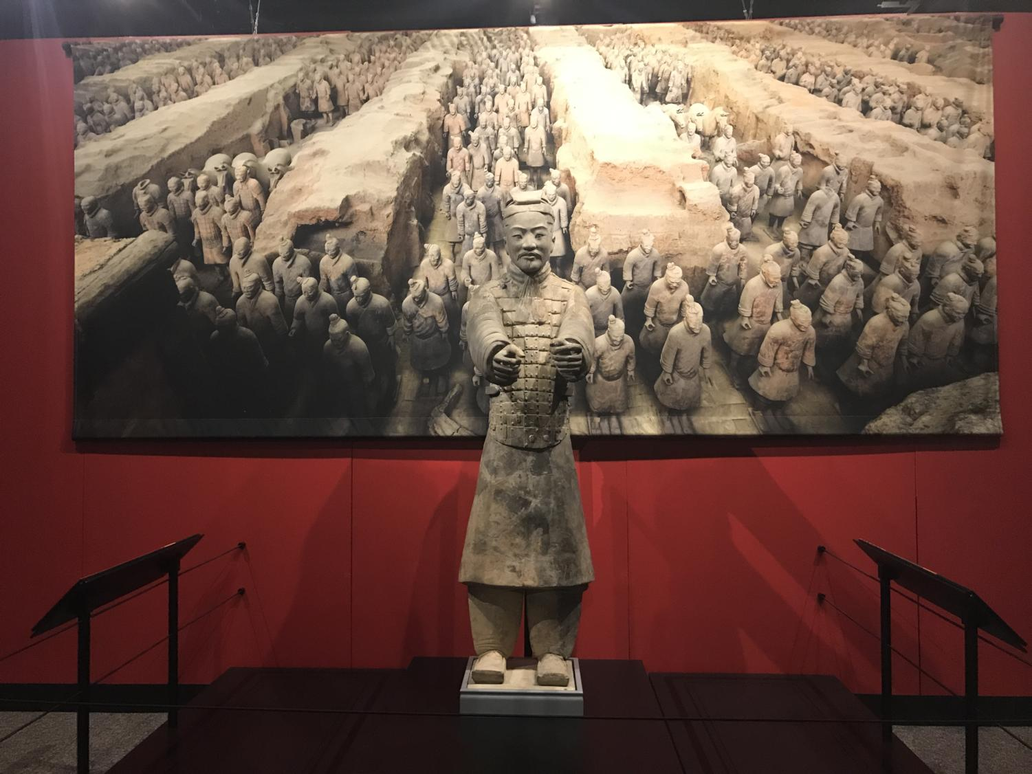 In addition to showcasing the original warriors from the burial site, the exhibit will also include various interactive tablets, videos and even augmented reality stations.