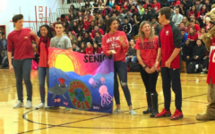 Seniors Sail to Victory, Pie Sails into Doctor Perry's Face at Annual Pep Rally