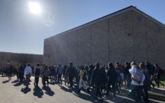 East students stage a walkout in protest